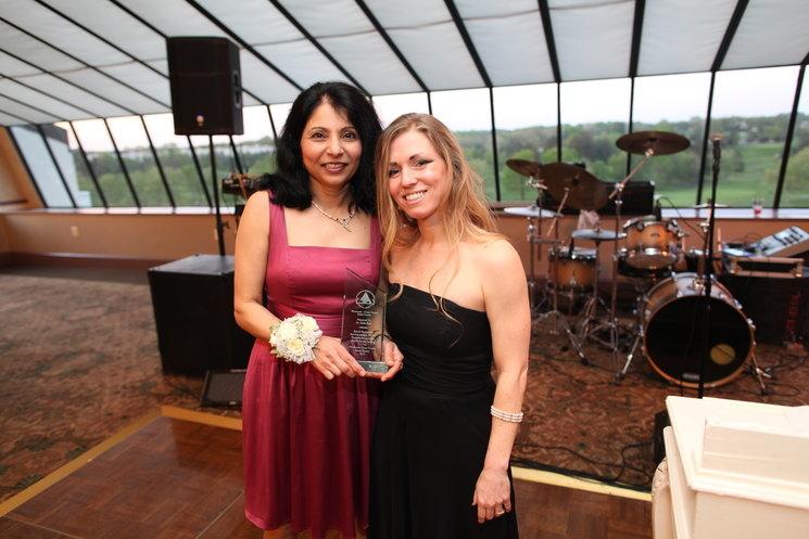 Dipika Shah and the Leadership Award